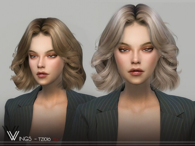WINGS-TZ1016 hair by wingssims