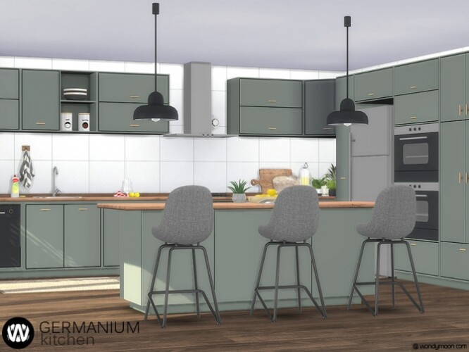 Germanium Kitchen Part I by wondymoon