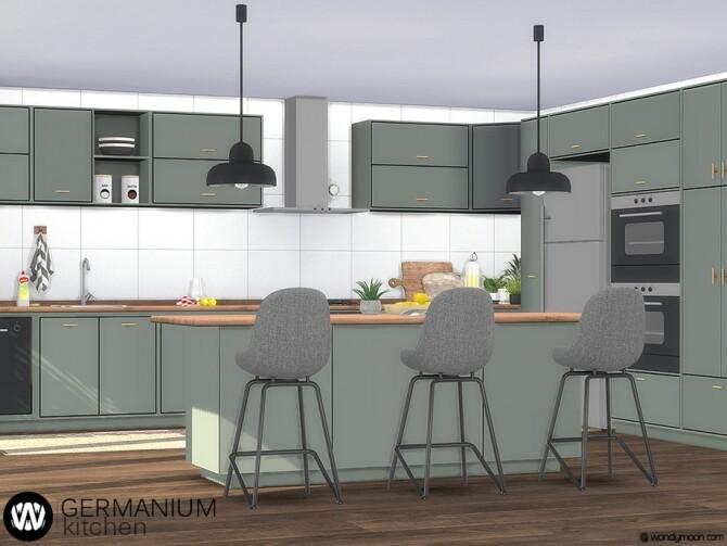 Germanium Kitchen Part I by wondymoon at TSR image 6713 670x503 Sims 4 Updates