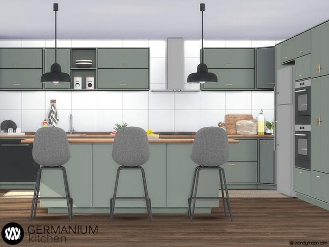 Sims 4 Germanium Kitchen Part I by wondymoon at TSR