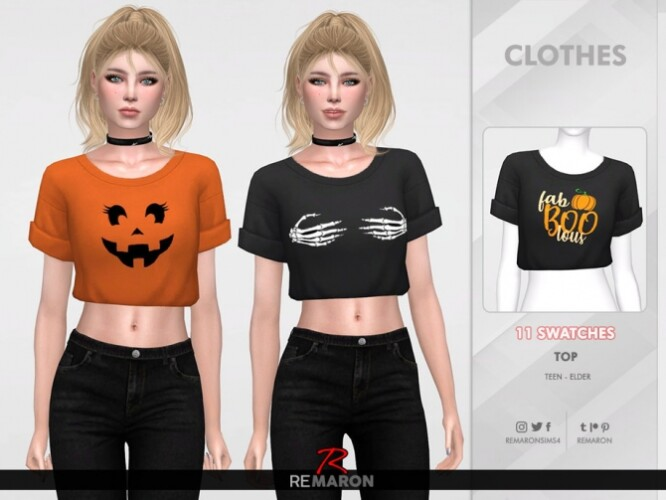 Halloween Shirt for Women 01 by remaron