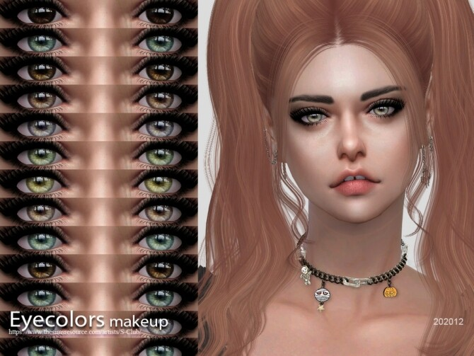 Sims 4 Eyecolors 202012 by S Club WM at TSR