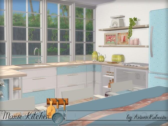 Marie Kitchen by ArwenKaboom at TSR image 689 670x503 Sims 4 Updates