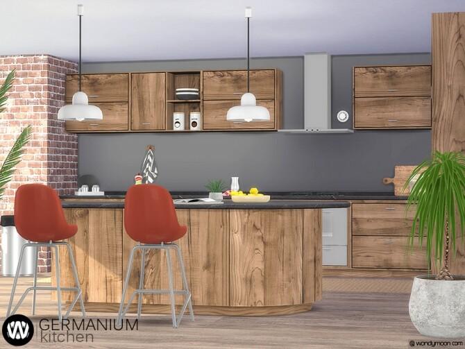 Germanium Kitchen Part I by wondymoon at TSR image 6912 670x503 Sims 4 Updates