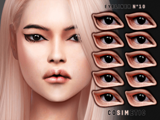 Eyeliner N10 by cosimetic at TSR image 7 1 670x503 Sims 4 Updates