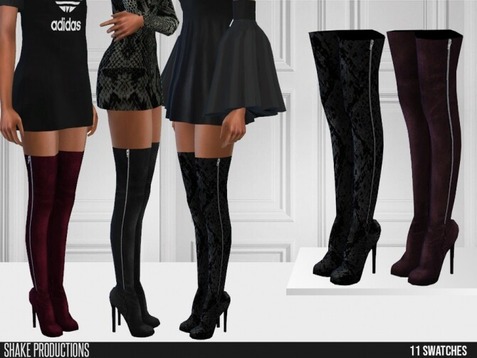 534 Boots by ShakeProductions at TSR image 706 670x503 Sims 4 Updates