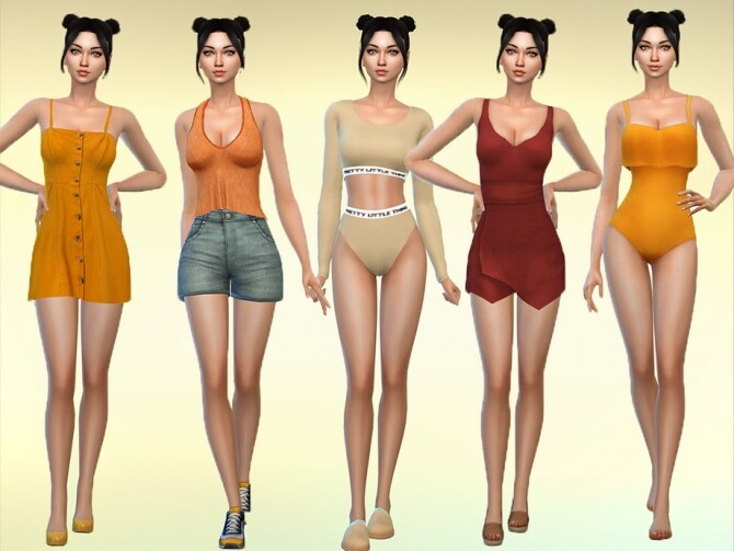 Sims 4 Colleen Blanton by Mini Simmer at TSR
