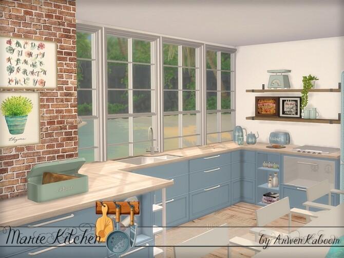 Marie Kitchen by ArwenKaboom at TSR image 7114 670x503 Sims 4 Updates