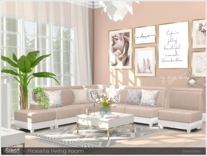 Rosalia livingroom by Severinka at TSR image 7120 670x503 Sims 4 Updates