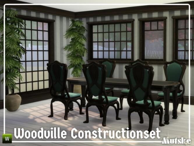 Woodville Construction set Part 3 by mutske
