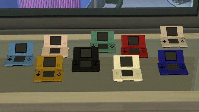 Sims 4 Usable Nintendo DS by LightningBolt at Mod The Sims