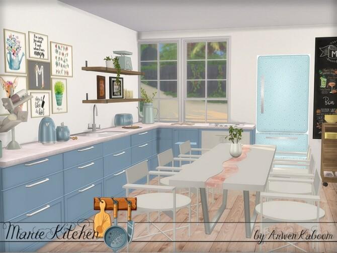 Marie Kitchen by ArwenKaboom at TSR image 7211 670x503 Sims 4 Updates