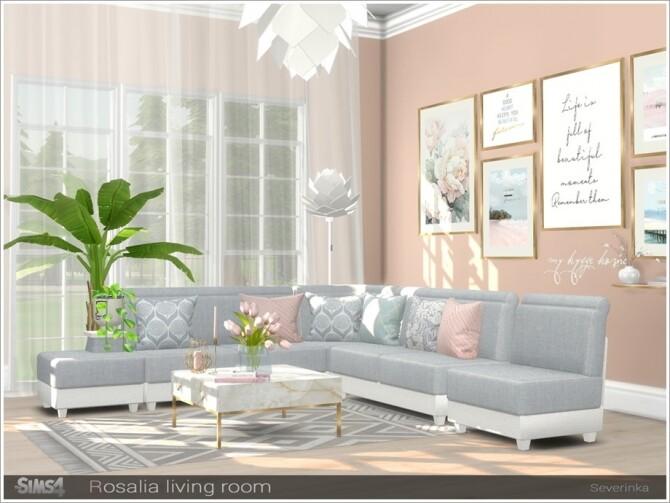 Rosalia livingroom by Severinka at TSR image 7216 670x503 Sims 4 Updates