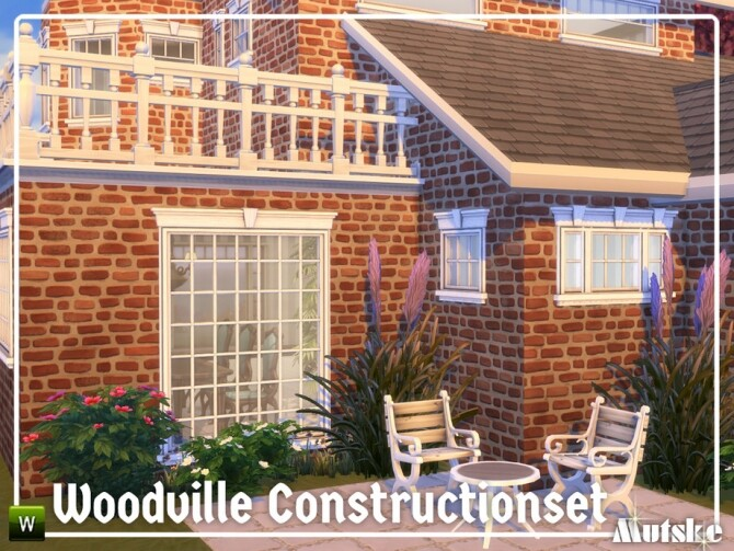 Sims 4 Woodville Construction set Part 3 by mutske at TSR