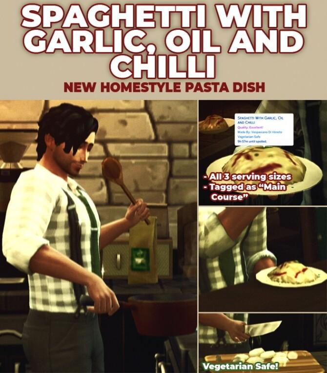 Spaghetti With Garlic byRobinKLocksley