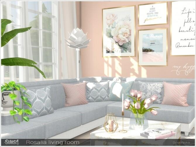 Rosalia livingroom by Severinka at TSR image 7315 670x503 Sims 4 Updates