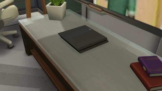 Sony PlayStation 4 by mule123 at Mod The Sims image 732 670x377 Sims 4 Updates