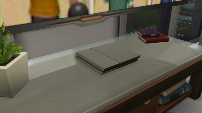 Sony PlayStation 4 by mule123 at Mod The Sims image 741 670x377 Sims 4 Updates