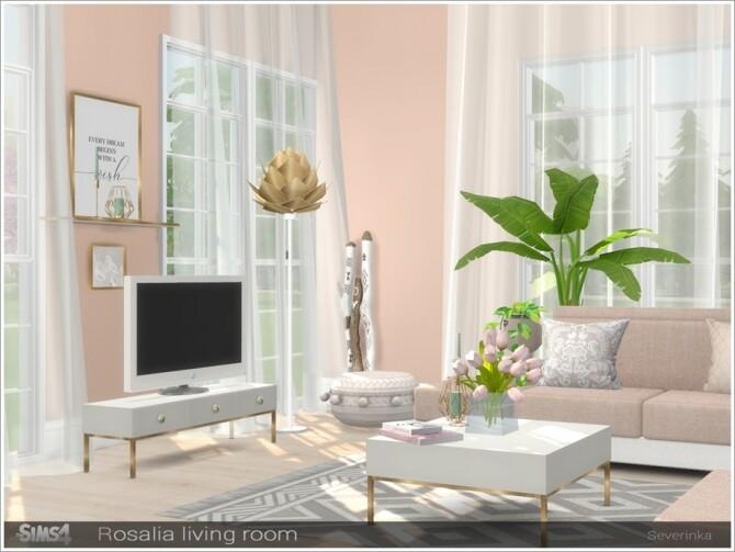 Rosalia livingroom by Severinka at TSR image 7415 670x503 Sims 4 Updates