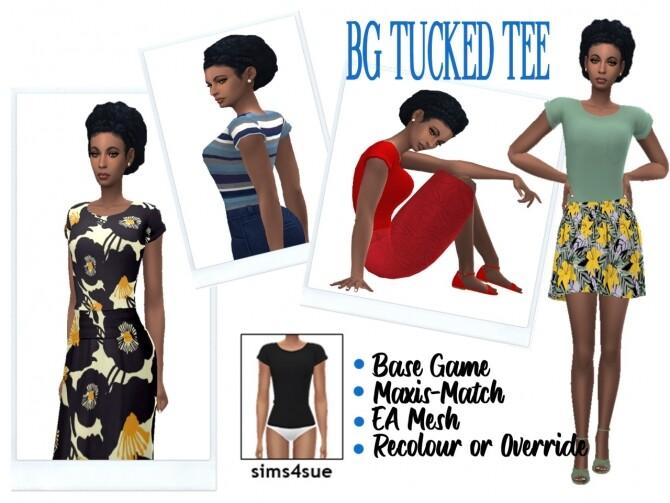 BG TUCKED TEE at Sims4Sue image 75 670x503 Sims 4 Updates