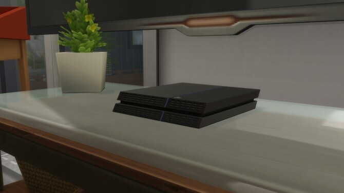 Sony PlayStation 4 by mule123 at Mod The Sims image 752 670x377 Sims 4 Updates