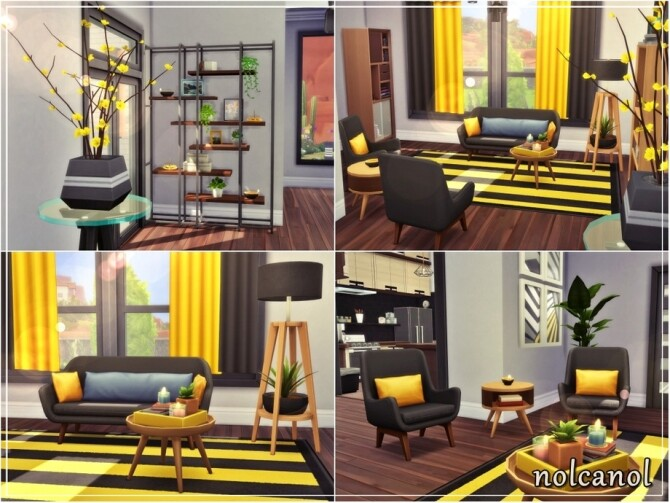 Nerissa home by nolcanol at TSR image 760 670x503 Sims 4 Updates