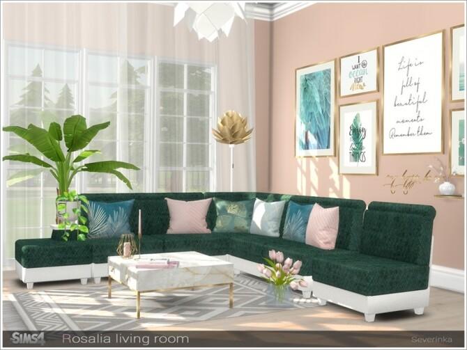 Rosalia livingroom by Severinka at TSR image 7616 670x503 Sims 4 Updates
