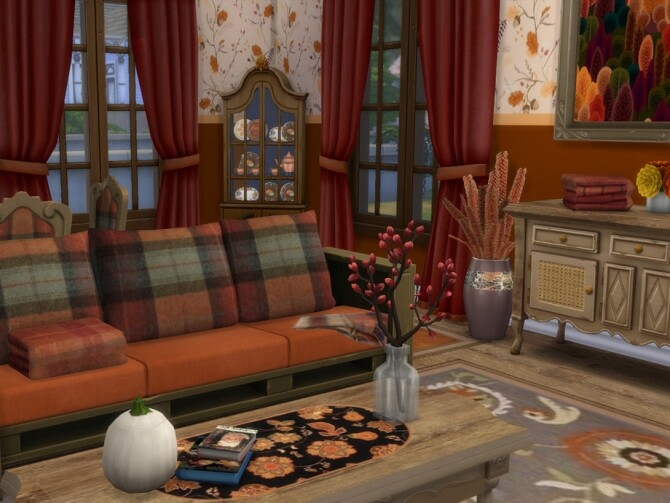 Waiting For Autumn Set by seimar8 at TSR image 770 670x503 Sims 4 Updates