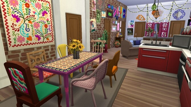 Sims 4 19 Culpepper House Apartment by xmathyx at Mod The Sims