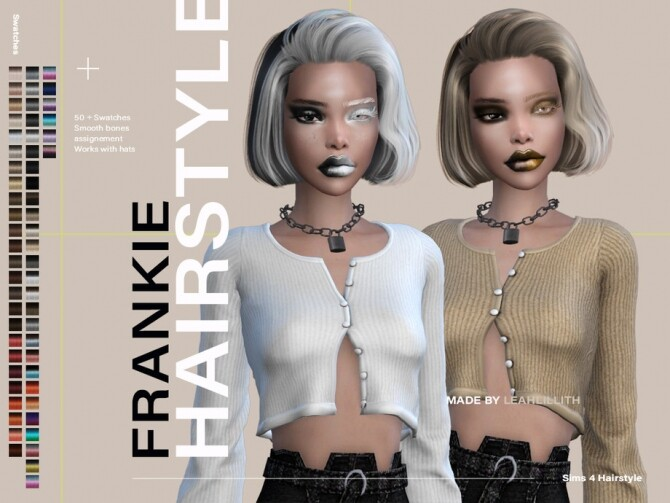 Frankie Hairstyle by LeahLillith at TSR image 7712 670x503 Sims 4 Updates