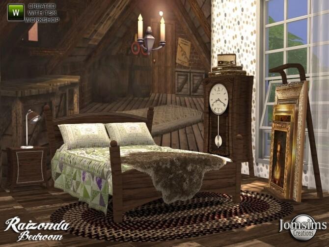 Sims 4 Raizonda bedroom by  jomsims at TSR