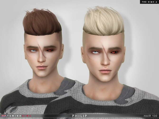 Philip Hair 130 by TsminhSims at TSR image 7917 670x503 Sims 4 Updates