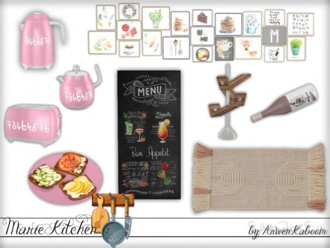 Marie Kitchen Decor by ArwenKaboom
