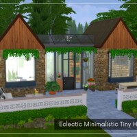 Eclectic Minimalistic Tiny House