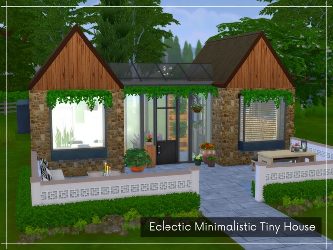 Eclectic Minimalistic Tiny House by A.lenna at TSR image 8013 670x503 Sims 4 Updates