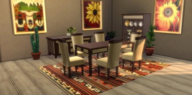 Hacienda Dining room Set