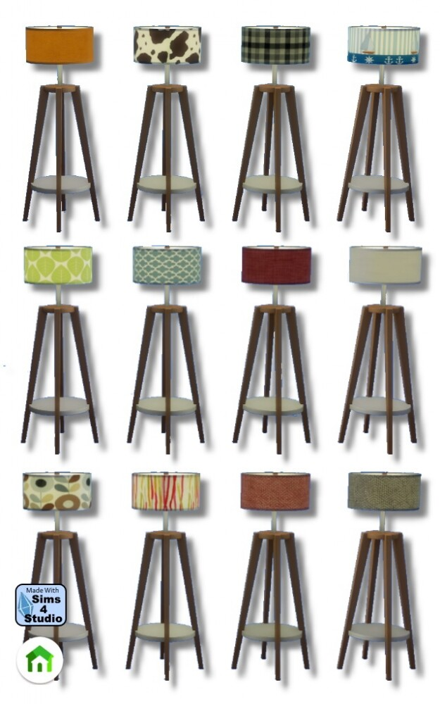 Floor lamp by Oldbox at All 4 Sims image 815 625x1000 Sims 4 Updates