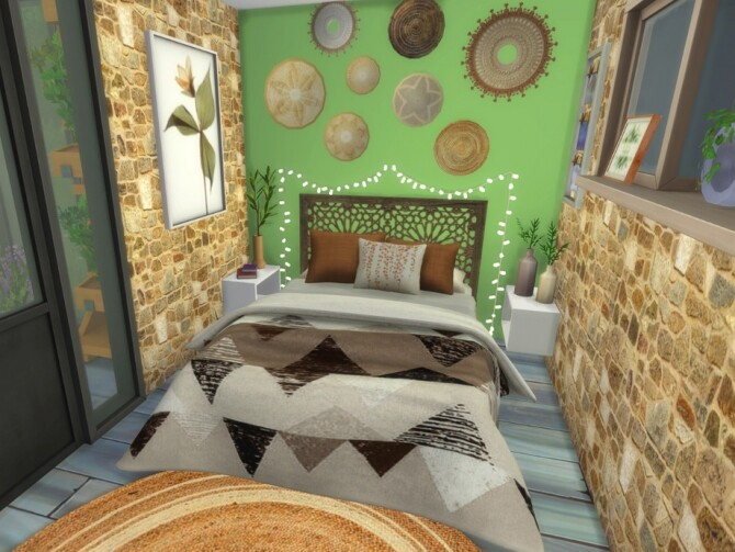 Eclectic Minimalistic Tiny House by A.lenna at TSR image 8314 670x503 Sims 4 Updates