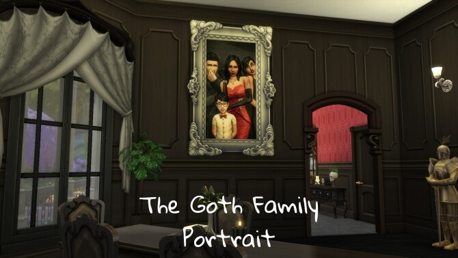 The Goth Family Portrait by CommodoreLezmo