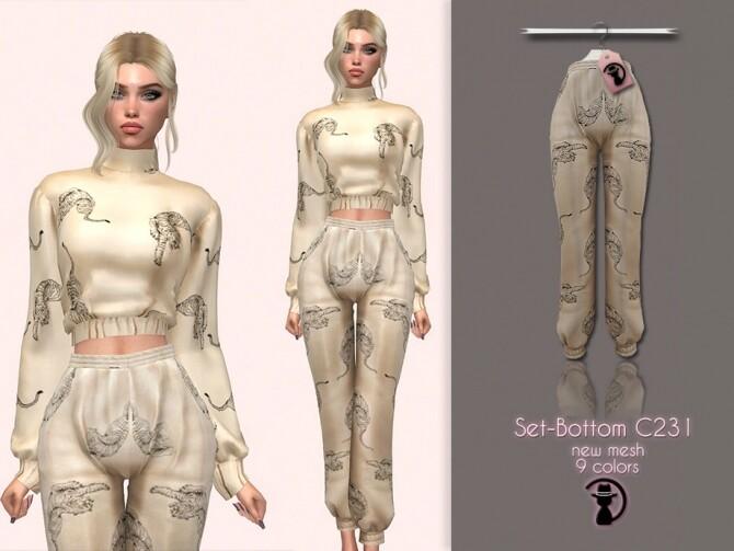 Sims 4 Set Bottom C231 by turksimmer at TSR