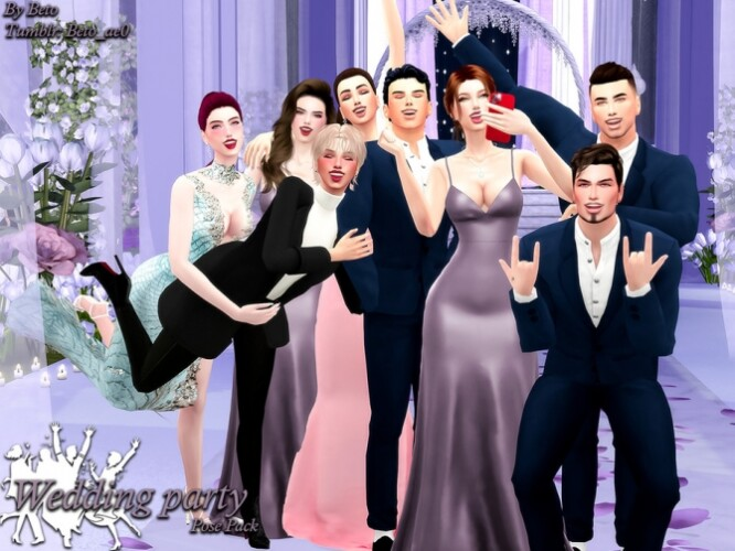 Wedding party pose pack by Beto_ae0