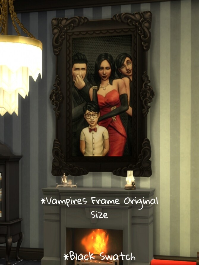 Sims 4 The Goth Family Portrait by CommodoreLezmo at Mod The Sims