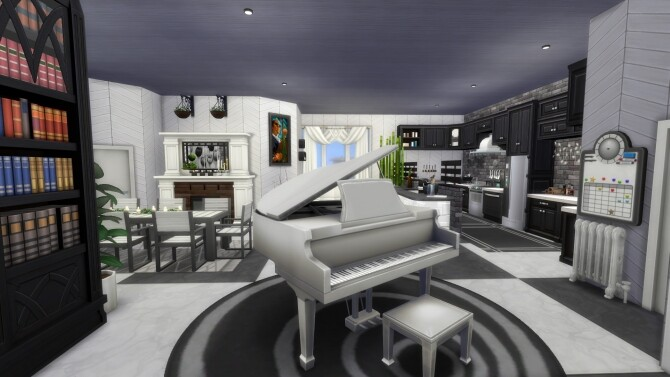 122 Hakim House Luxury Family Apartment by MarVlachou image 8417 670x377 Sims 4 Updates