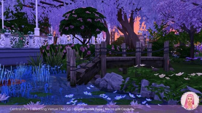 Sims 4 Central Park Wedding Venue at MikkiMur