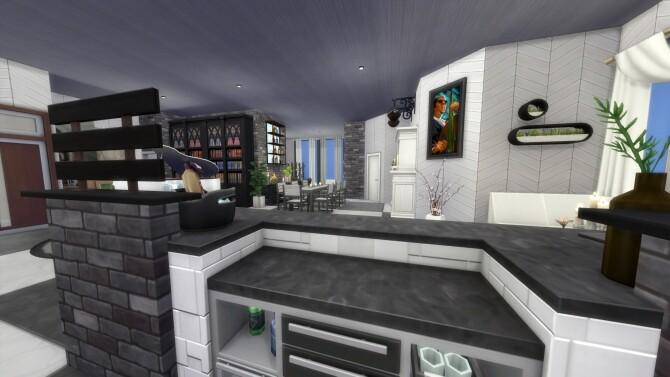 Sims 4 122 Hakim House Luxury Family Apartment by MarVlachou