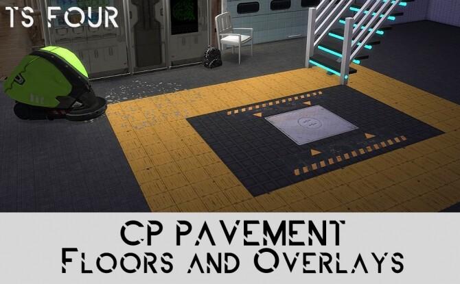 Cyberpunk Urban Floors and recolors
