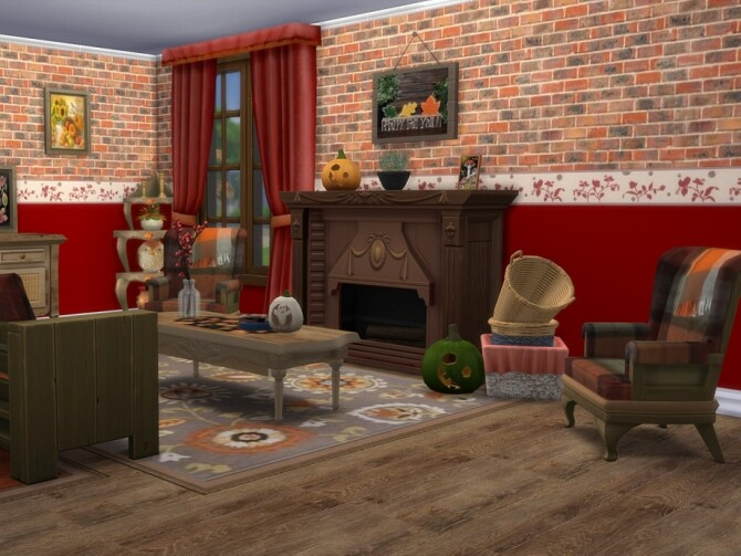 Waiting For Autumn Set by seimar8 at TSR image 870 670x503 Sims 4 Updates