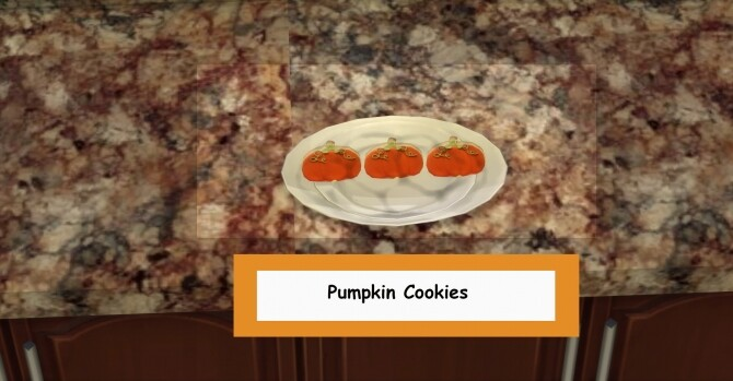 Sims 4 Halloween Cookies by Laurenbell2016 at Mod The Sims
