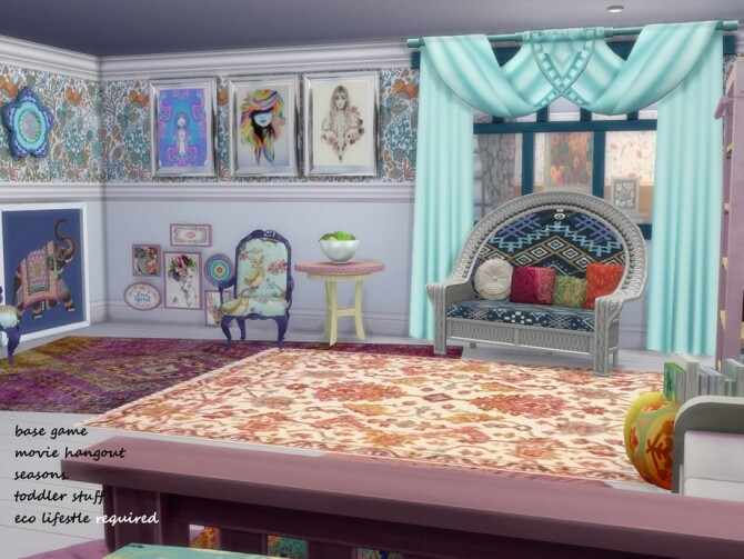 Indian Summer Boho MishMash by seimar8 at TSR image 8811 670x503 Sims 4 Updates