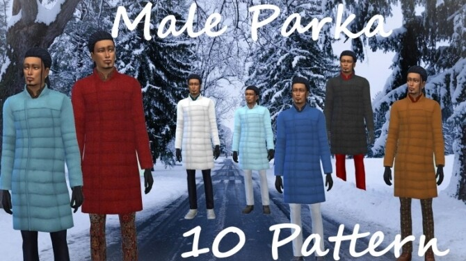 Sims 4 Parka at Birksches Sims Blog
